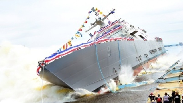 USS Little Rock Commissioning Ceremony