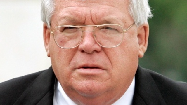 Hastert leaves fed pen for