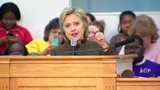 Clinton pledges to stand with Flint...