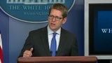 Jay Carney: Obama supports Hillary...