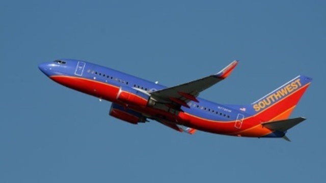 Fire crew meets Southwest plane after possible fire reported