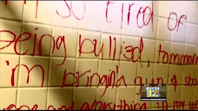 Kern high school bathroom threats reach total of 8; deemed non-