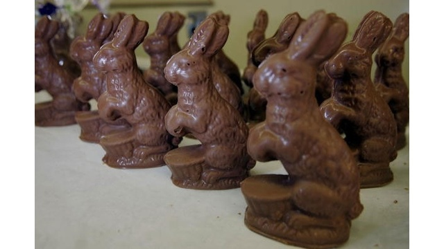 Chocolate Easter bunnies, candy, bunny_1942955442465838
