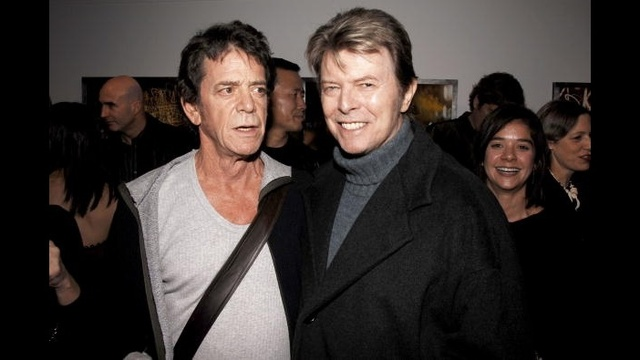 David Bowie through years - Lou Reed 2006_3737198419044182