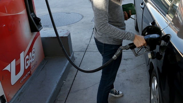 Gas rises for first time in a month, but not locally