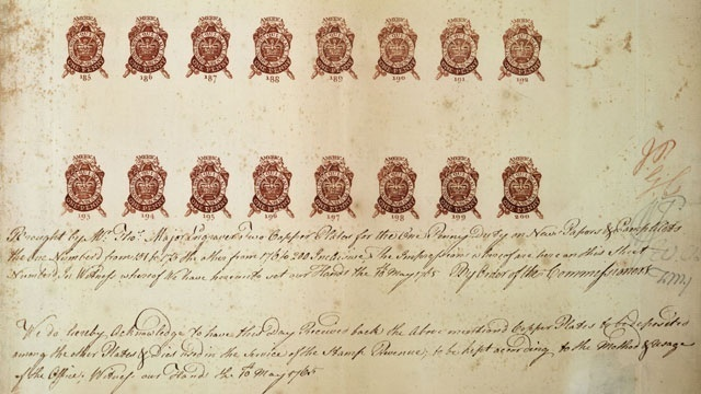 OTD March 22 - Stamp Act_1936272416654517