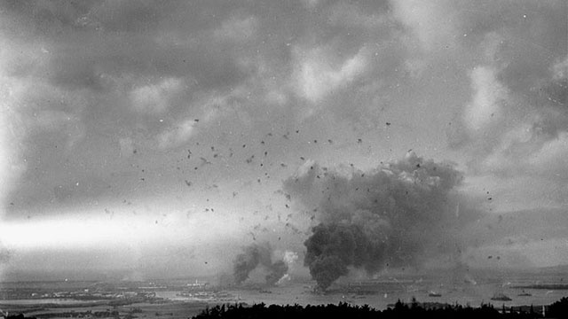 Pearl Harbor attack in photos