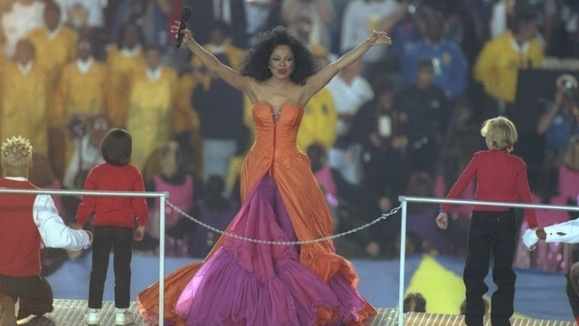 Super Bowl halftime - Diana Ross 1996_727367022772540