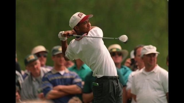 Tiger Woods through years - 1995 Masters_3717604014165119