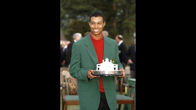 Tiger Woods through years - 1997 Masters_3717049634613224