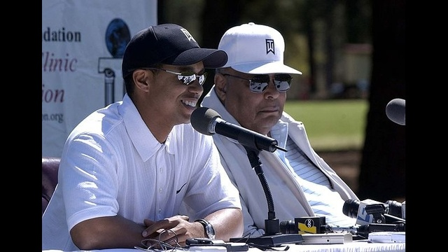 Tiger Woods through years - Earl Woods_3717048269462090