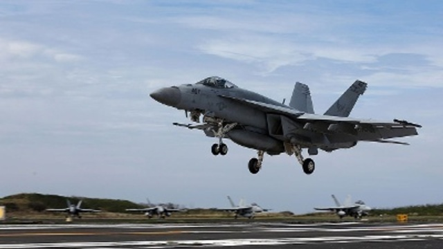 Two dead after Oceana-based Navy jet crashes off Florida coast