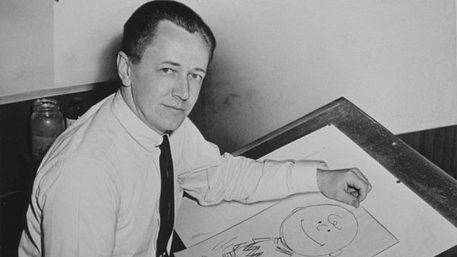 Charles Schulz, 1956 Library of Congress photo_3124761494101947