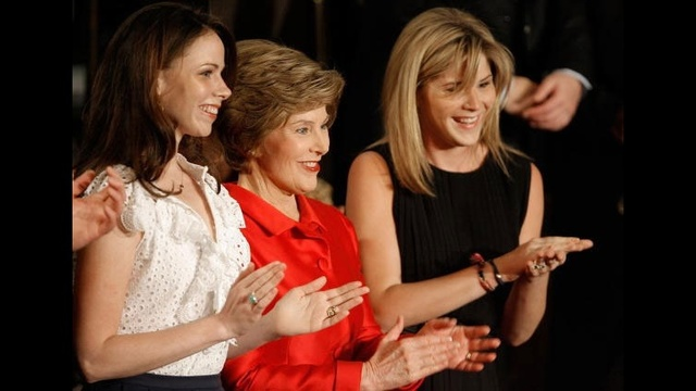 Famous mothers of twins - Laura Bush_1253708856294917