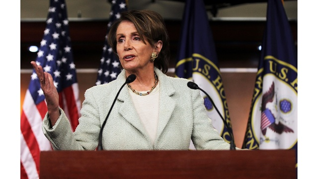 Trump Says He Hopes Dems Don't Force Pelosi Out