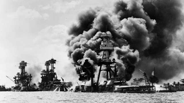 Young & old remember Pearl Harbor