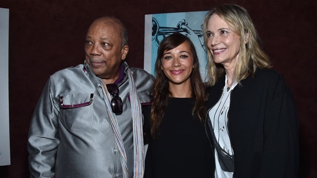 Quincy Jones with Peggy Lipton and family_8970666327024