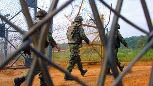 Korean soldier defects to South, suffers gunshot wounds from North