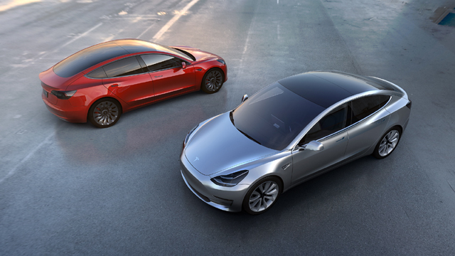 Tesla averages more than 1,800 Model 3 reservations a day
