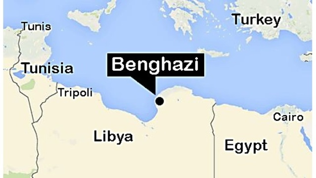 US Forces Capture Second Benghazi Suspect In Libya OzarksFirst - Benghazi us consolate attack on google maps