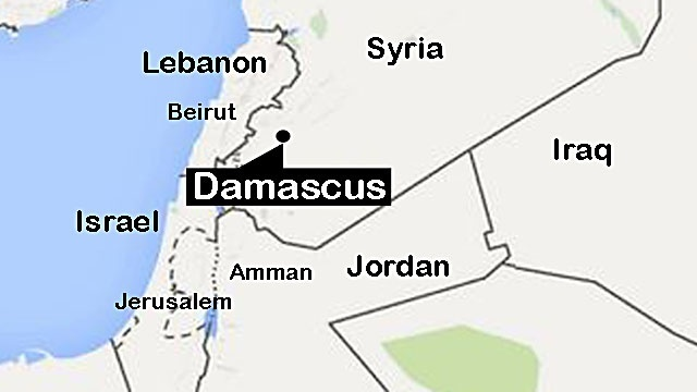 Syria war: Damascus sees fierce clashes after rebel attack