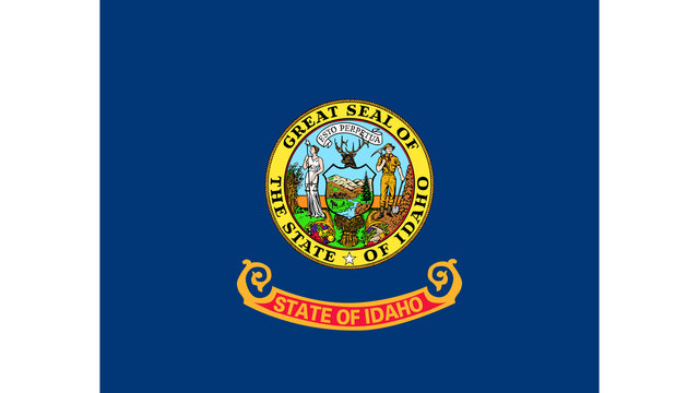 Idaho state flag35539957