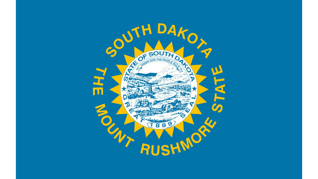 South Dakota state flag83901598