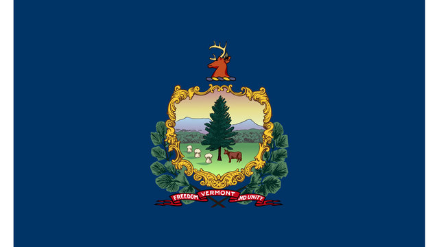Vermont state flag89284134