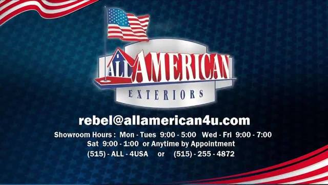 All American Exteriors with Rebel Snodgrass - May 10, 2016