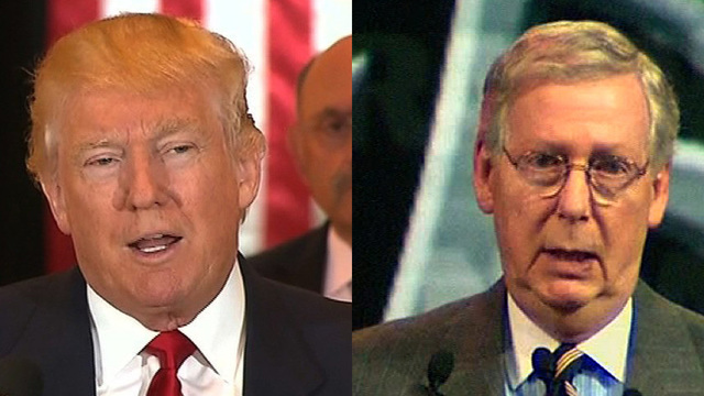 Trump and McConnell talked about how to address Roy Moore situation