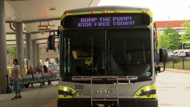 CARTA Offers Free Bus Rides Thursday For National Dump The Pump Day