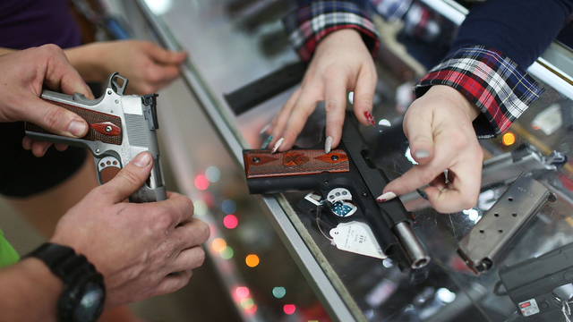Federal Bureau of Investigation receives record-breaking 200000 gun checks on Black Friday