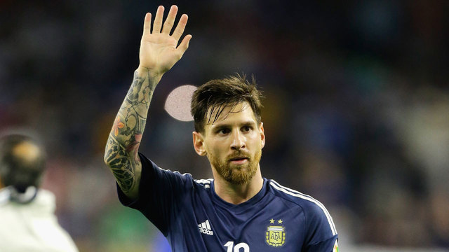 Messi banned for four matches over official insult