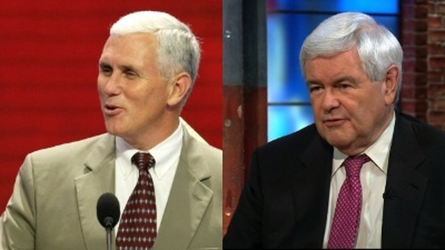 Pence, Gingrich make the final cut in Trump's VP search, sources say