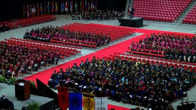 Students Participate in Spring 2017 Commencement