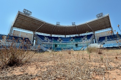 Abandoned venues olympic softball stadium at the helliniko olympic