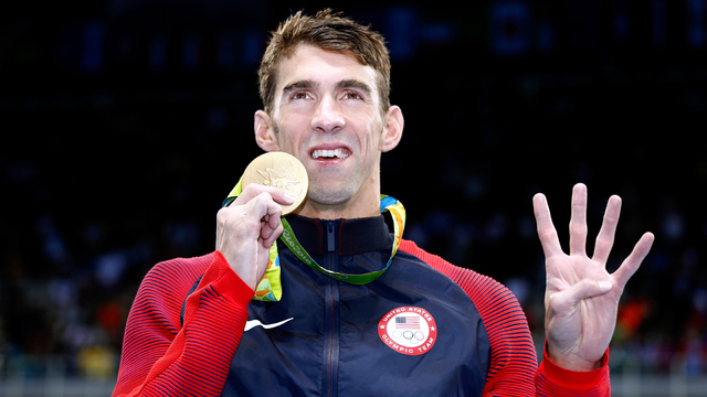 Shark Week going for gold with Michael Phelps