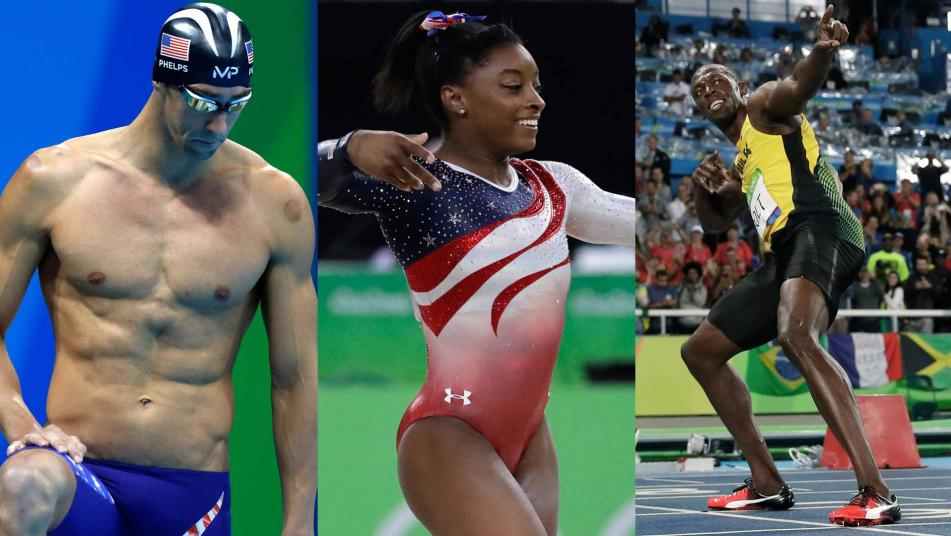 Watch top 16 moments from the rio olympic games story