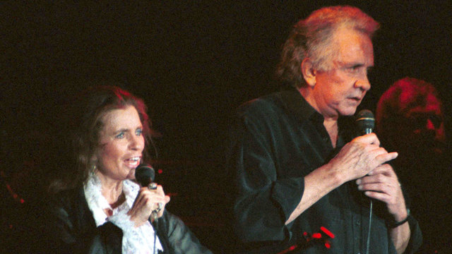 June Carter Cash and Johnny Cash in 199774912370