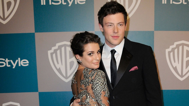 Lea Michele, Cory Monteith in 201220667131