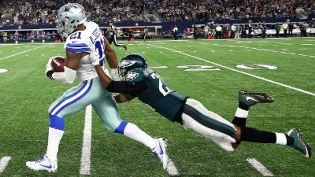 Cowboys fan charged in fight about Eagles sues over bail system
