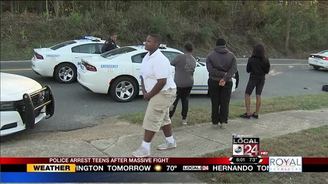 Several Taken Into Custody After Fight Outside Mitchell High - Mitchell high school memphis tn