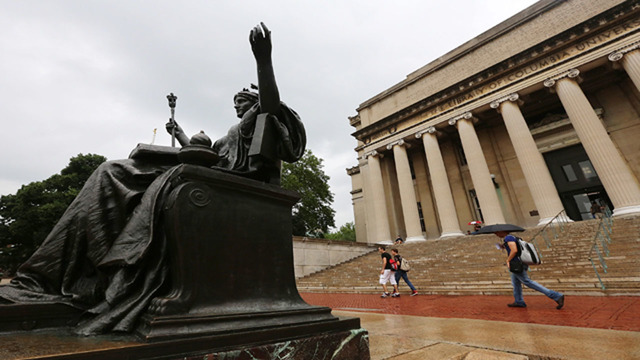 Columbia University settles with student accused of sexual assault