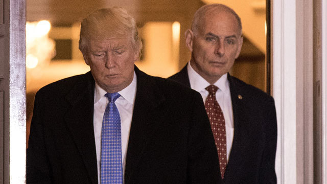 Sec. Kelly: Trump will 'be insistent' on funding border wall