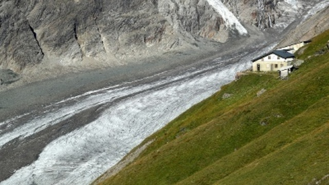 NASA imagery shows how fast glaciers are melting