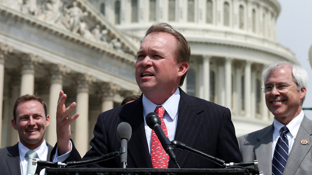 Mulvaney faces new GOP hurdles for budget director, threatening confirmation