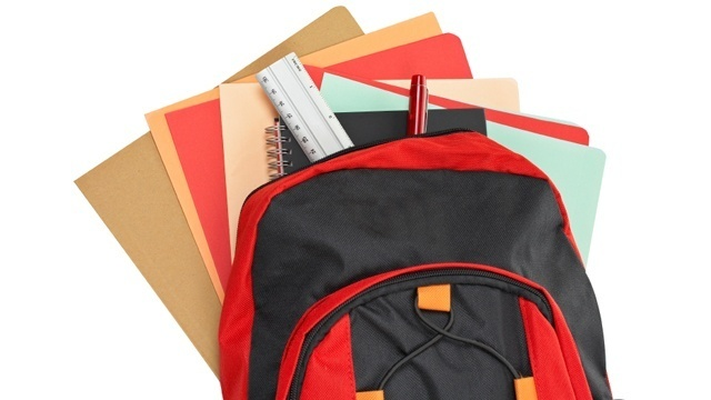 Back to school: Lighten backpacks, other safety tips