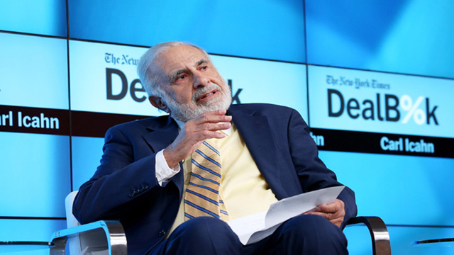 Carl Icahn Steps Down as Adviser to President Trump