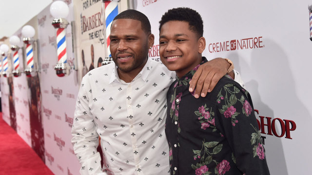 celebs and kids - Anthony Anderson54305411
