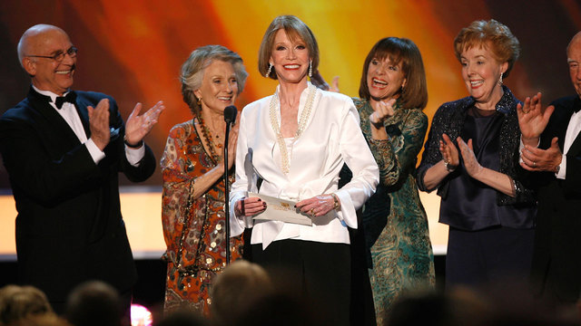 Mary Tyler Moore Show cast at 2007 SAG Awards46851489